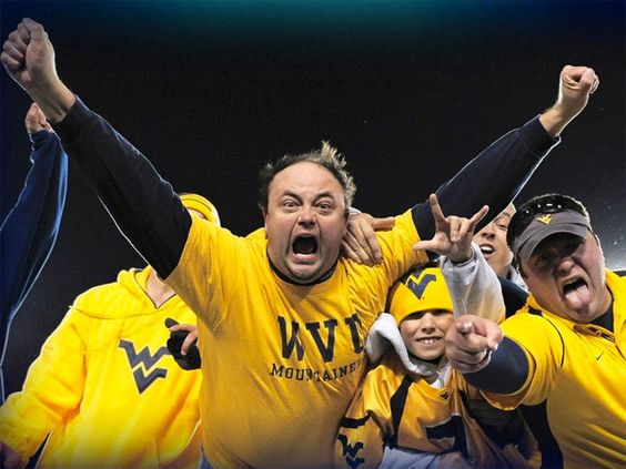 Image result for mountaineer fans