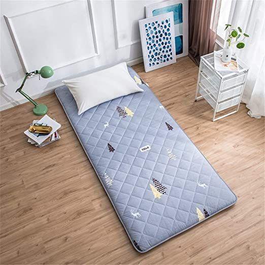 Gohbqany Folding Mattress Portable Tatami Mattress Comfort Mattress Ground Floor Sleeping Pad Folding Mat Lazy In 2020 Comfort Mattress Folding Mattress Sleeping Pads