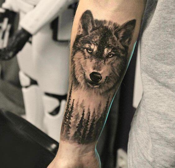 25 Wolf Forearm Tattoo Ideas For Men Women Petpress In 2020 Wolf Tattoo Sleeve Wolf Tattoo Forearm Forearm Tattoo Men