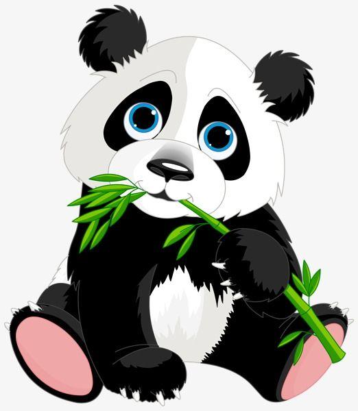 Hand Painted Cartoon Panda Aberdeen Cartoon Panda Animal Png And Vector With Transparent Background For Free Download Seni Panda Binatang Gambar Hewan