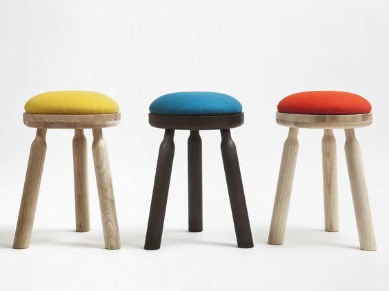 NINNA Hocker by Adentro Design Carlo Contin