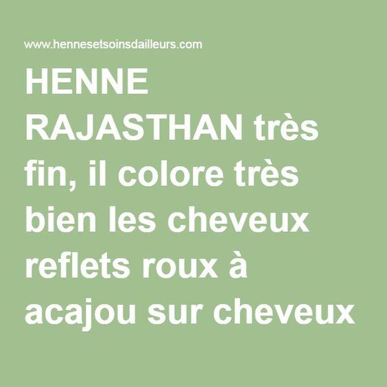 henn sur pinterest teintures pour cheveux au henn indigo et henn - Coloration Vgtale Sans Henn