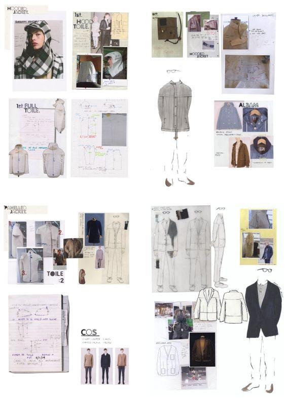 Fashion Sketchbook pages - pattern cutting journal; fashion drawings; fashion design development; fashion portfolio // Miriam Sucis