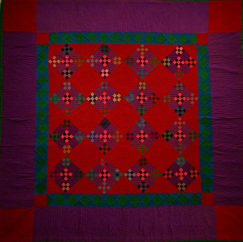 Amish Abstractions Quilts by nei_ananda, via Flickr. ohhhh the colors!!!