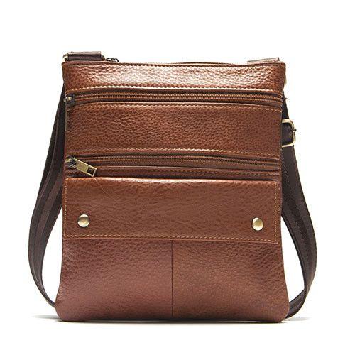 MARRANT Men Bags Genuine Leather Man Coin Purse Shoulder Bag New Zipper Style Men Messenger Bags CrossBody Shoulder Handbag 170