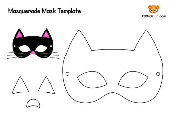 Free Printable Masquerade Masks Template With Images