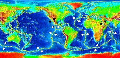 Evolutie van continenten en oceanen