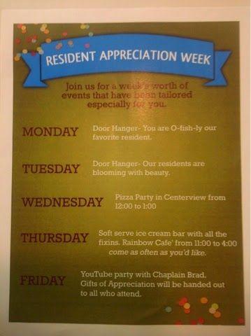 Apartment Community Event Ideas