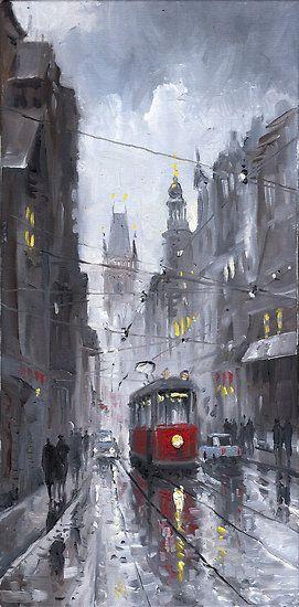yuriy shevchuk   Yuriy Shevchuk › Portfolio › Prague Old Tram 03: