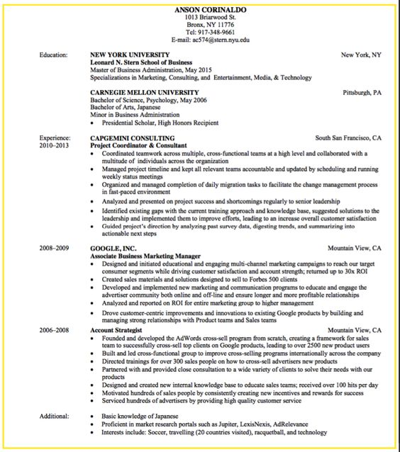 sample business development and consulting resume - http - staffing recruiter resume