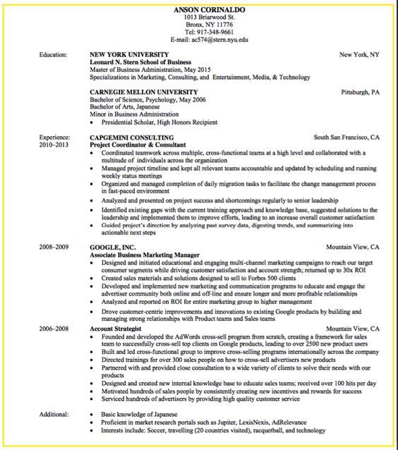 Online Advertising Executive #MTV Resume Example (resumecompanion - sale representative resume