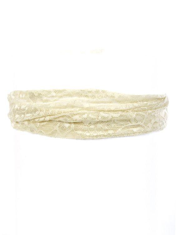 Floral Lace Headwrap - Headbands & Hair - Accessories: Headband Hair, Wedding Ideas, Gypsy Hippie, Hippie Boho, Headwrap Headbands, Hair Accessories, Lace Headwrap, Headbands Hair, Floral Lace