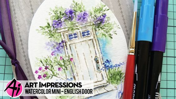New Video! Summer Door from WC Project Series 6 Set 2 by Bonnie Krebs!