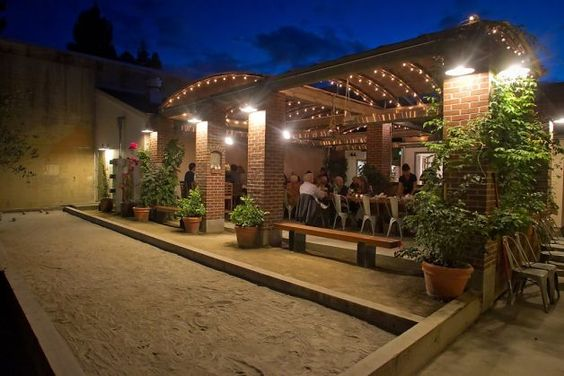 The bocce ball court at Campo Fina in Healdsburg. Photo: John Storey, Special To The Chronicle / SF