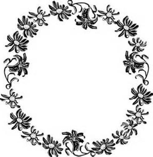 Black And White Flower Border Clipart Clipart Library Free Flower Border Clipart Clip Art Borders Flower Border