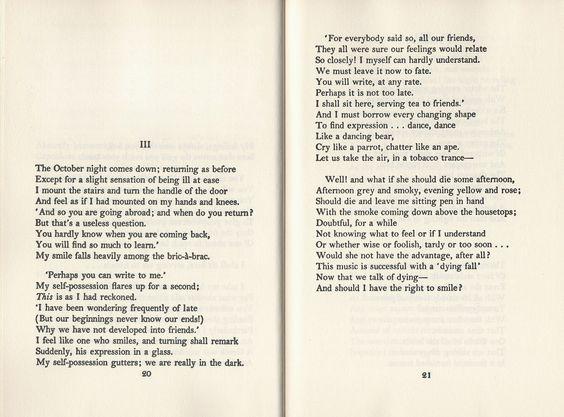 Did t.s. elliot write any shorter poems?