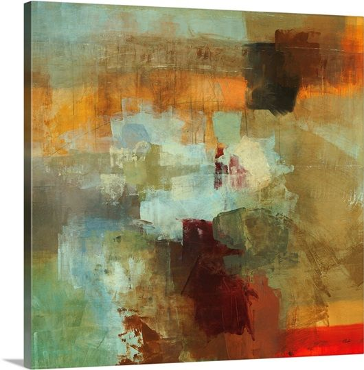 Big City Ii Painting Abstract Art Painting Art