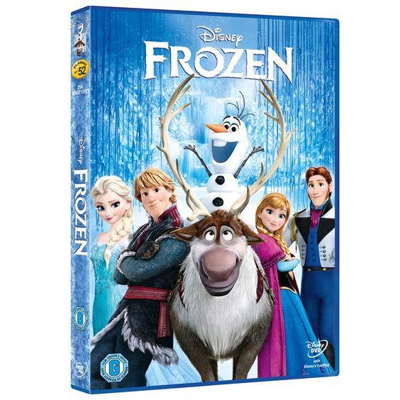 Disney Frozen DVD image-0