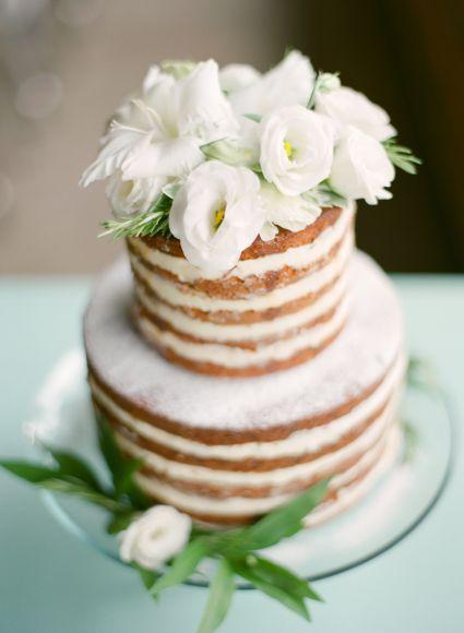 17 bolos de casamento lindos e deliciosos estilo Naked Cake perfeitos para decorar ainda mais sua mesa! [Foto]