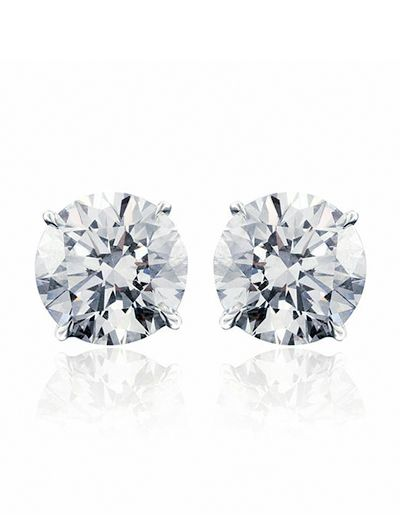 Martini Stud Earrings // as seen on Emma Roberts Attending the 2017 Vanity Fair Oscar Party - February 26, 2017