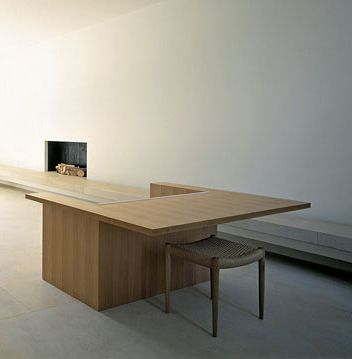Minimalist interior by john pawson pawson house london for Minimalist house london