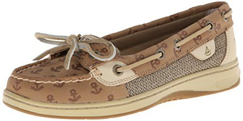 Sperry Top-Sider Women's Angelfish Embossed Boat Shoe, Linen Anchors, 5 M US Sperry Top-Sider http://www.amazon.com/dp/B00HHE3Q80/ref=cm_sw_r_pi_dp_rPchub1GFW5QC