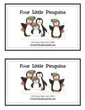 penguin printable book