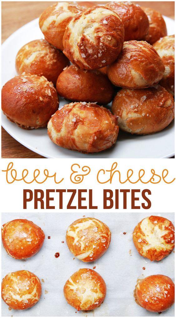 Aqui está o que acontece quando você combina cerveja, queijo e Pretzels