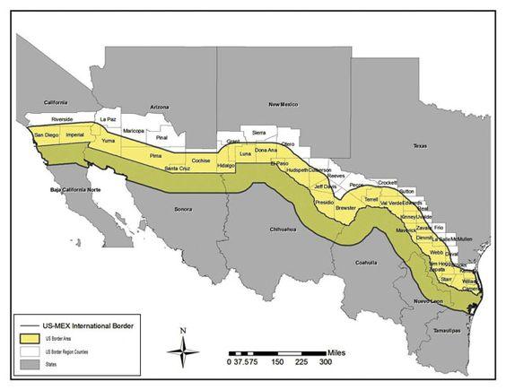 United States Mexico Border Health Commission – Mapsmexico