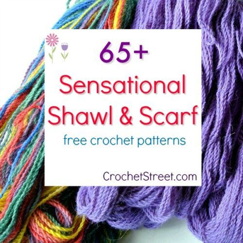65+ Lightweight Scarves and Shawls free crochet patterns ...