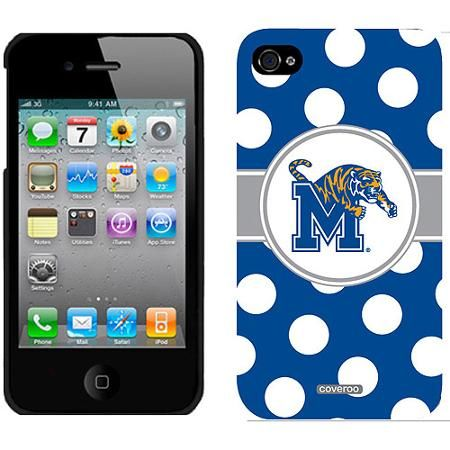 Memphis Polka Dots Design on Apple iPhone 4/4s Thinshield Snap-On Case by Coveroo