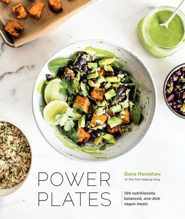 Power Plates-100 NUTRITIONALLY BALANCED, ONE-DISH VEGAN MEALS - By GENA HAMSHAW. Recommended by Shauna Z out of all the 39 vegan cookbooks she owns so it must be good!