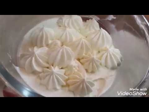 Bu Kremi Hec Bir Kremle Deyismərəm Plombir Kimi Zavarnoy Krem Bele Dadli Krem Yoxdu Youtube Desserts Food Icing
