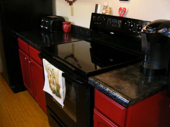 Updating old formica counter-tops to look like granite