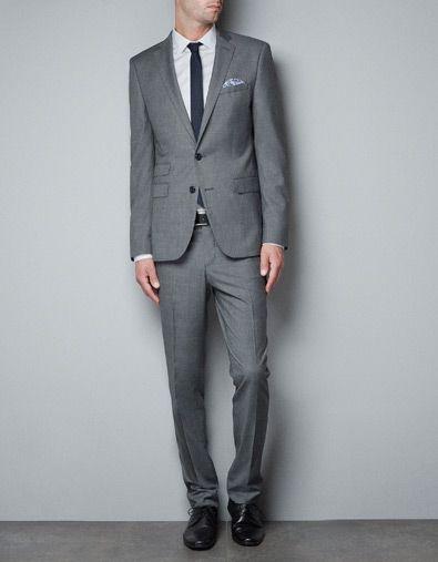 window pane check blazer suits man zara greece men. Black Bedroom Furniture Sets. Home Design Ideas
