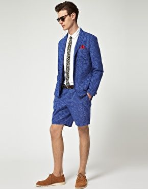 ASOS - Pantaloncini eleganti con stampa leopardata