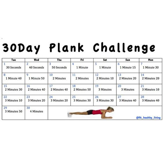 30 day plank challenge who 39 s in we 39 re starting our 30day for Plank workout results