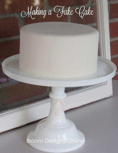 Make It Monday Fake Cake