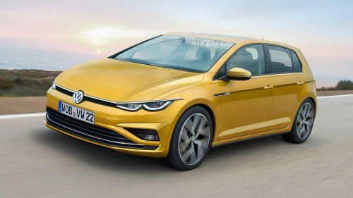 All New Vw Golf Mk8 Needs To Look More Daring How S This For A Change New Model Car Volkswagen Golf Vw Golf