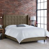 Found it at Wayfair - Groupie Wingback Bed