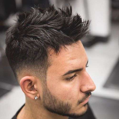 45 Best Spiky Hairstyles For Men 2020 Guide Hairstyles For Receding Hairline Dapper Haircut Fade Haircut