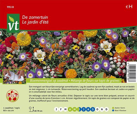 catalogus detail - Bloemenmengsel - De zomertuin