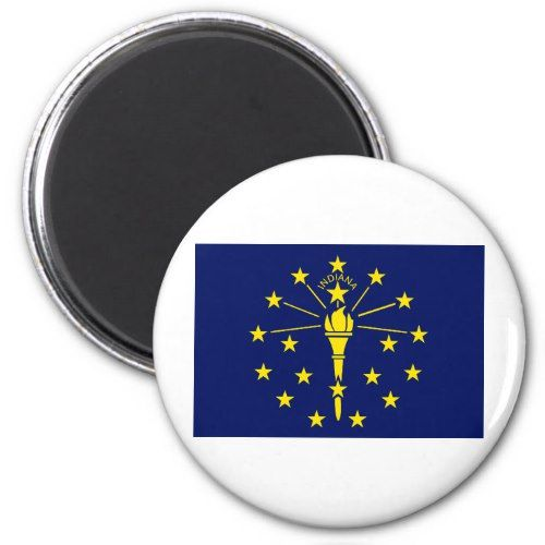 Indiana State Flag Pendant Magnet