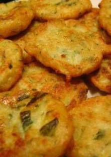 Recette de Beignets de courgettes au boursin et parmesan