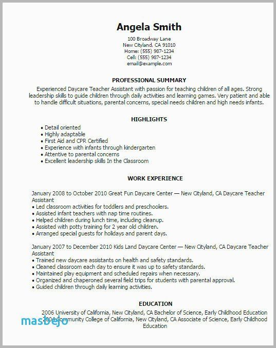 76 Elegant Images Of Rn Resume Examples 2016 With Images Teacher Resume Examples Education Resume Teacher Assistant