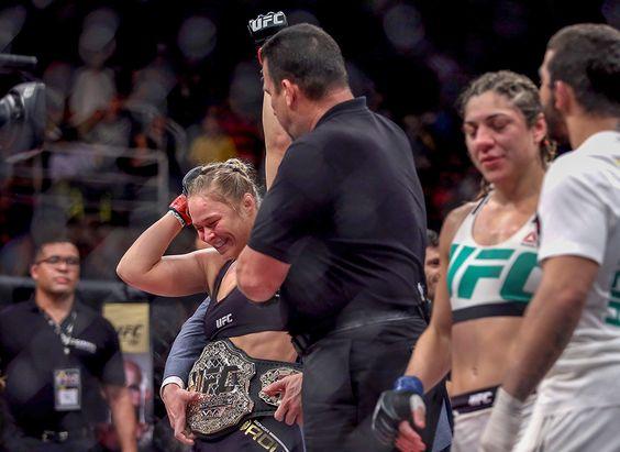 Ronda Rousey : Ronda Rousey takes on Bethe Correia in UFC 190
