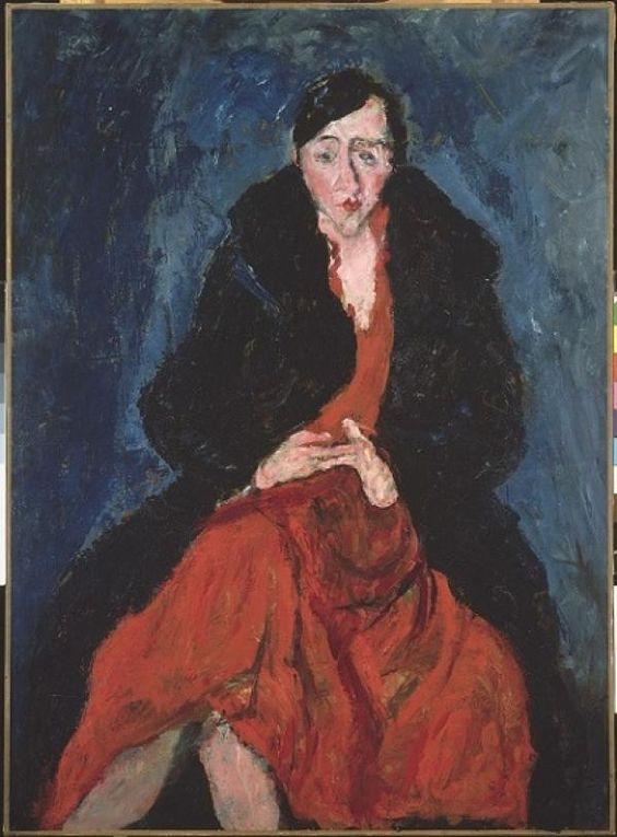 La décoratrice d'intérieur Madeleine Castaing par Soutine (1894 – 1992)