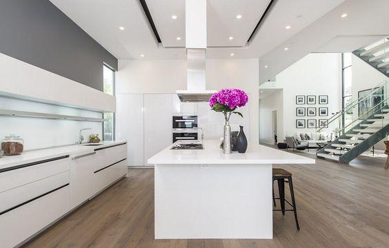 Reihenhaus sanieren, stylingroom, Inennarchiterktin für Umbau von - l förmige küche