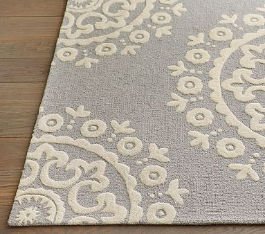 Mckenna Rug 3x5 Ft Gray No Matter What Pottery And Kid