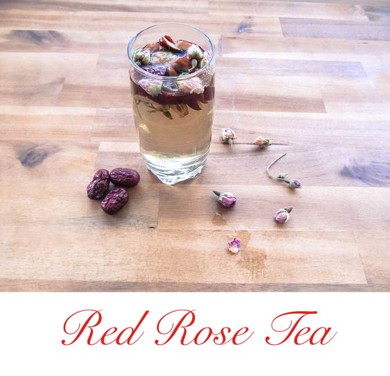 Healthy Red Rose Tea  http://yummcious.com/red-rose-tea